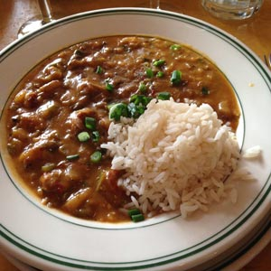 Image of Crawfish Etouffee at the Gumbo Shop