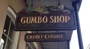 Image of Outside the Gumbo Shop